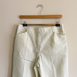 Summery trousers in light green